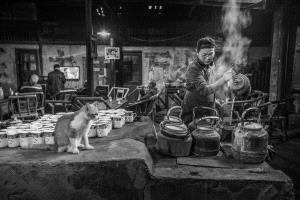 Bugis Photo Cup Circuit Merit Award - 梅 郭 (China) <br /> Old Teahouse