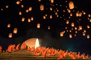 PhotoVivo Honor Mention - Guixiang Huang (China) <br /> Loi Krathong Festival2
