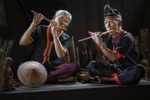 Bugis Photo Cup Circuit Silver Medal - Tan Tong Toon (Malaysia)  Bidayuh Flute Player