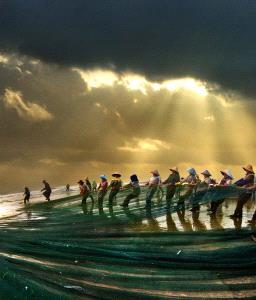 PSA Gold Medal - Tong Hu (China) <br /> Fishin The Morming