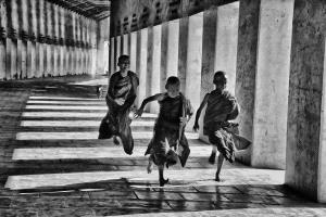 Bugis Photo Cup Circuit Merit Award - Pat Choo (Singapore) <br /> Happy Young Monks