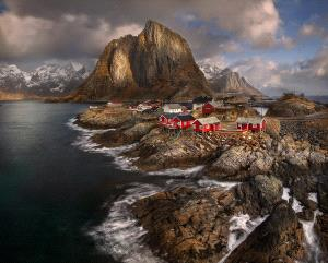 Bugis Photo Cup Circuit Silver Medal - Yury Pustovoy (Russian Federation)  Fishing Village, Norway