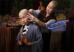 PhotoVivo Honor Mention - Deqiang Zhang (China) <br /> Little Monk