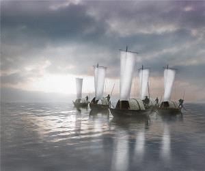 PhotoVivo Honor Mention - Weihua Huang (China)  Set Sail On Vast Sea