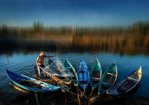 PhotoVivo Silver Medal - Hung Kam Yuen (Australia)  Fisherman Life