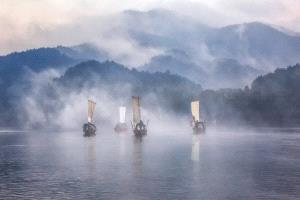 PSA HM Ribbons - Feng Lee (Taiwan)  Sail Boats In Fog