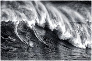 PhotoVivo Honor Mention - Thomas Lang (USA) <br /> Two Surfers Warriors