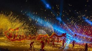 ICPE Gold Medal - Lilo Chen (Taiwan)  Fire Dragon Show