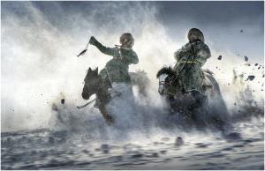 BPC Merit Award - Qimin Song (China)  Race In The Snow 1