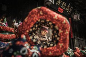 PhotoVivo Honor Mention e-certificate - Jietang Wang (China)  Old Lady