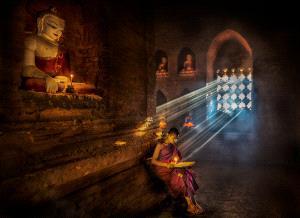 ICPE Gold Medal - Wendy Wai Man Lam (Hong Kong)  Reading Monk 5