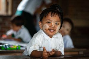 BPC Merit Award - Sanjoy Sengupta (India)  The Inle School Kid