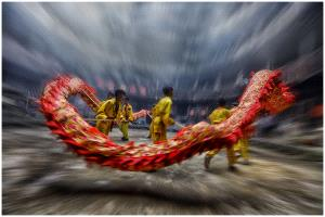 PhotoVivo Honor Mention e-certificate - Chinh Ha (USA)  Dragon Dance P