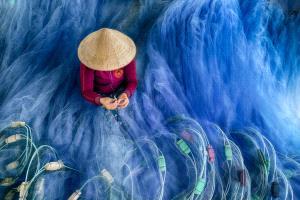 APU Honor Mention e-certificate - Chin Leong Teo (Singapore)  Blue Fishing Nets 1