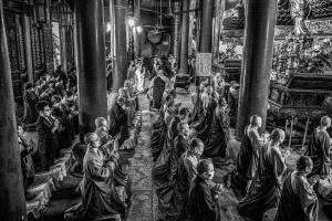 PhotoVivo Honor Mention e-certificate - Weiwei Wang (China)  Zen Practice 2