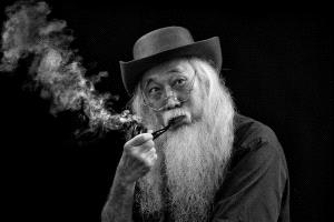PhotoVivo Gold Medal - Khaing Sandar Tin (Singapore)  Smoking Old Men 1 M