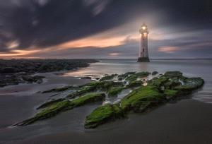 PhotoVivo Honor Mention e-certificate - Yury Pustovoy (Russian Federation)  Lighthouse Uk